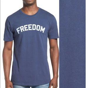 "KATIN | ""Freedom"" Graphic Crewneck Tee sz M"